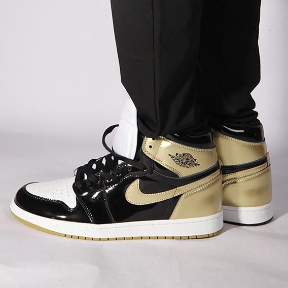 Air Jordan 1 Retro High Og Nrg Gold Top 3 Sneaker