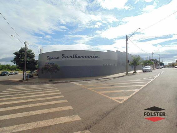 Salão À Venda, 277 M² Por R$ 930.000,00 - Terras De Santa Bárbara - Santa Bárbara D