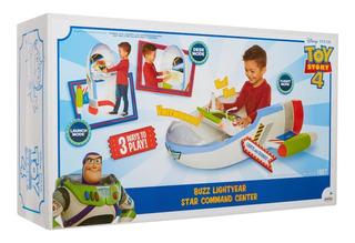 Toy Story Buzz Lightyear Star Centro De Comando Con Sonidos