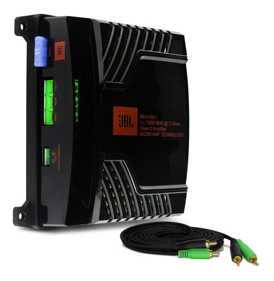 Módulo Amplificador Jbl Selenium Br-a 150.1 150w Rms + Cabo