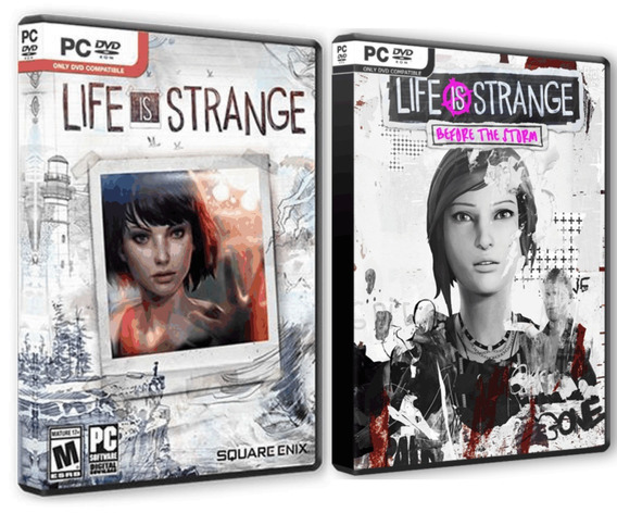 Life Is Strange + Before The Storm - Pc Dvd - Frete 8 Reais