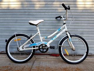 Bicicleta De Paseo Musetta Rod.20 Para Nenas