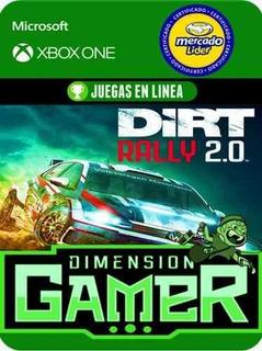 Dirt Rally 2.0 - Xbox One - Modo Local + En Linea