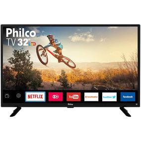 Smart Tv Led 32 Philco Ptv32g50sn Hd Com Conversor Digital.