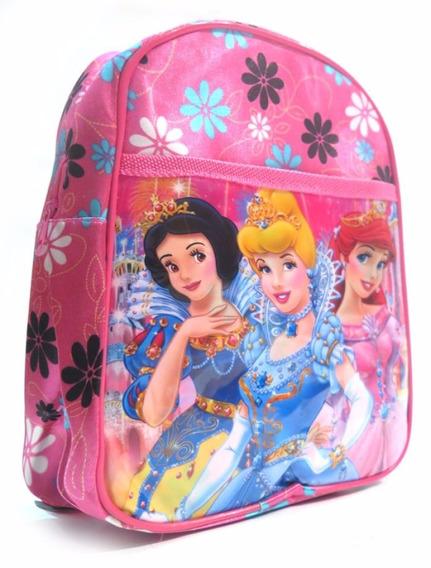 Mochila Colegial Jardin Princesas Disney 8590 - Children