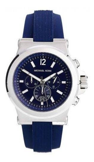 Relógio Masculino Michael Kors Mk8303 Dylan Blue Dial Blue