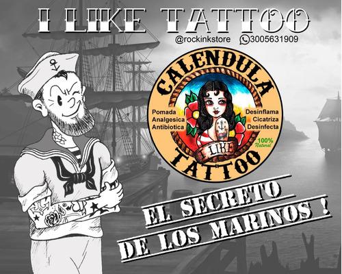 Crema Calendula Tattoo Docena - Unidad a $10000