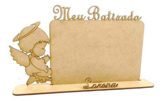 20 Porta Retrato (lembrancinha) Batizado Personalizado