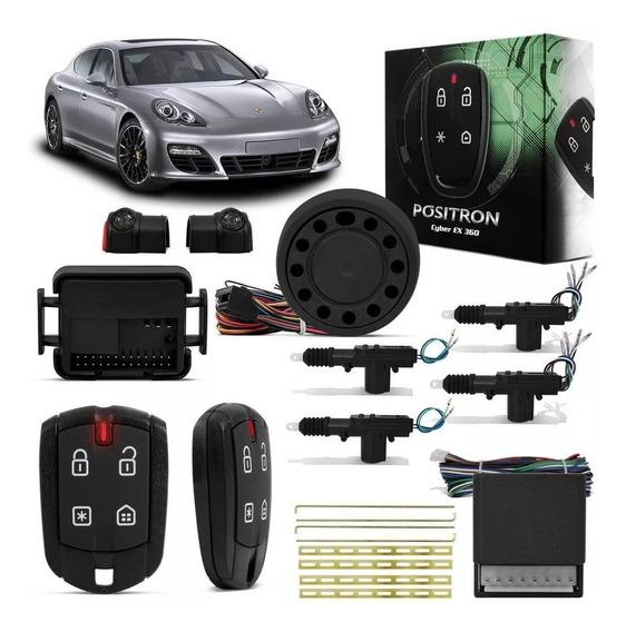 Alarme Positron Ex360 + Trava 4 Portas Corsa Classic Onix