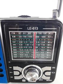 Rádinho De Mão A Energia Bateria E Pilhas 110v/220v Fm/am/sw