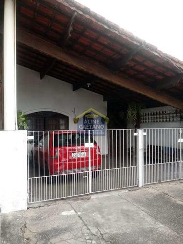 Casa 2 Dorms, Caiçara, Praia Grande - R$ 225 Mil - Vact795