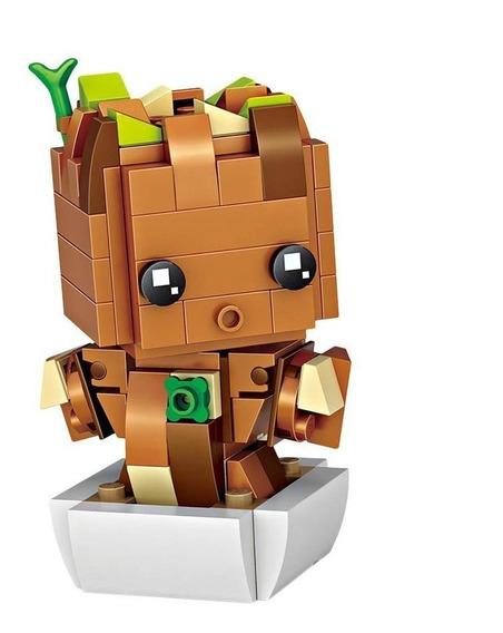 Loz Brickheadz Marvel Groot - Envío Gratis