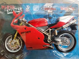 Miniatura Maisto- Moto Ducati 998r