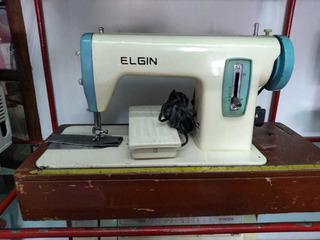 Maquina De Coser Elgin Familiar Recta Maqosur