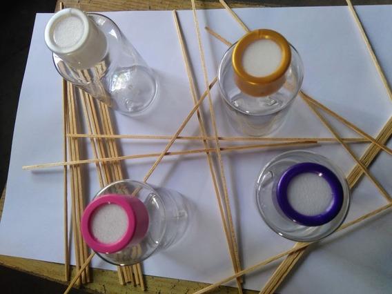 Envase De Pet Cristal, Difusor Y Varillas