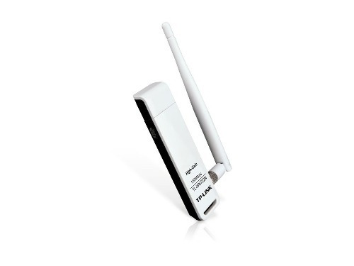 Imagen 1 de 6 de Tp-link Puerto De Red Usb Wn722n Antena Wifi Wps 150 Mbps