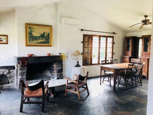 Linda Casa En Zona Pinares!! Ideal Vivir Todo El Año- Ref: 1189