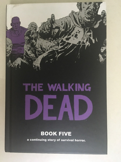 The Walking Dead Book 5 Capa Dura Com 12 Números