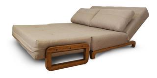 Sofa Cama Matrimonial Moderno En Tela Ingenia Mobydec Mueble