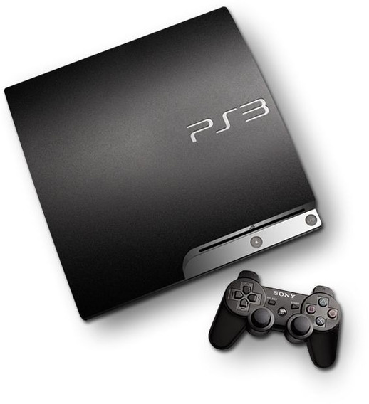 Playstation 3 Slim Original, Usado + Conta Com Jogos