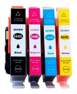 Cartucho Alternativo Para 564xl B209 B210 C6380 C6300 Tinta