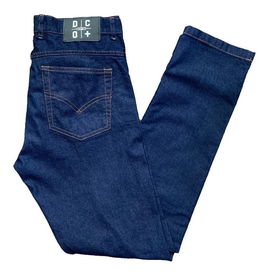 Pantalon De Jean Recto Elastizado - Dco+