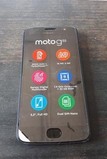 Moto G5s Novo 5,2 Azul 32gb Leitor Digital Camera 16mp