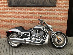 Harley Davidson V Rod 2008 Prata Com 14000km