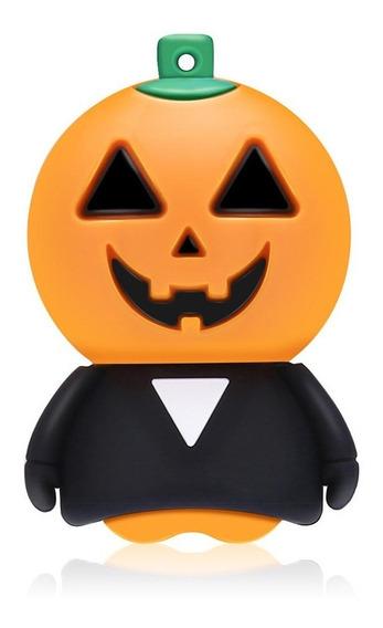 Pendrive 32 Gb Halloween Dia Das Bruxas Abobora Fantasma