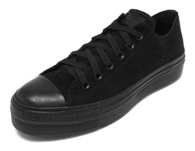 Tênis Feminino Converse All Star Ct Monochrome Plataform Ox