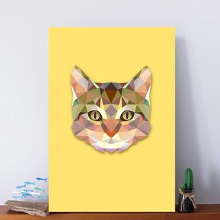 Placas Decorativas Mdf Quadro Plaquinha Poster 30x20 A4 Em Vários Modelos + 6000 Opções Gato 01a