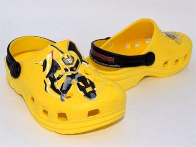 Babuche Plugt Kids Transformers Bumblebee Amarelo 29/30