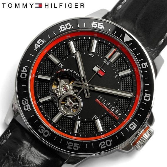 Maravilhoso Relógio Tommy Hilfiger Automatico Modelo 1791055