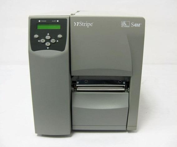 Impressora Zebra S4m Usada Térmica Etiqueta Funcionando #2
