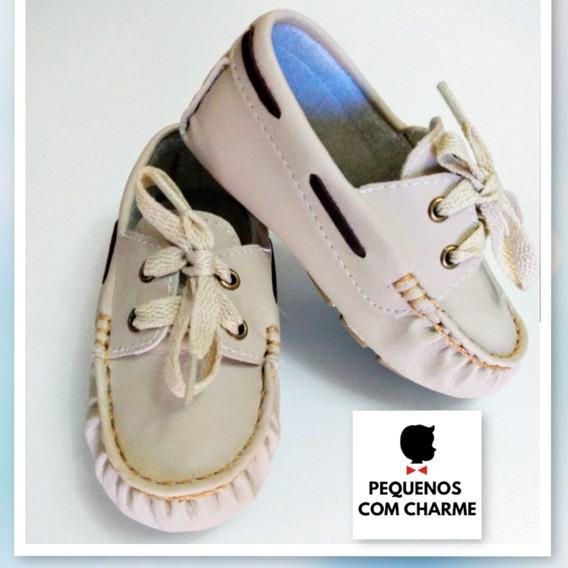 Sapato Social Mocassim Infantil