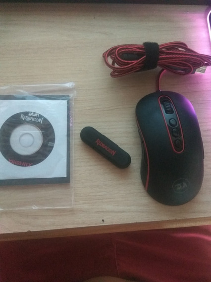 Mouse Redragon Phoenix M702 10,000 Dpi Usado 100% Funcionand