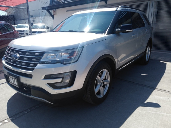 Ford Explorer 3.5 Xlt Piel At 2016