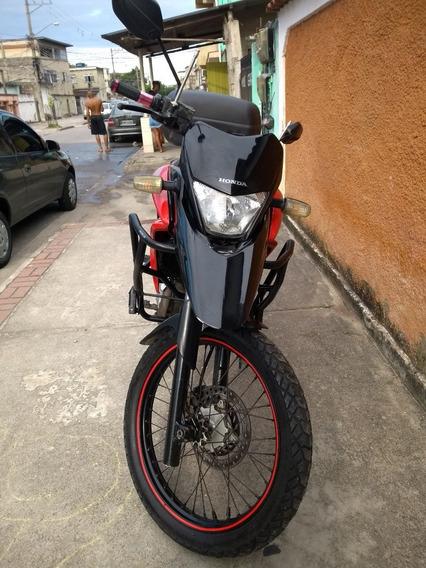 Honda Xre 300 Vermelha