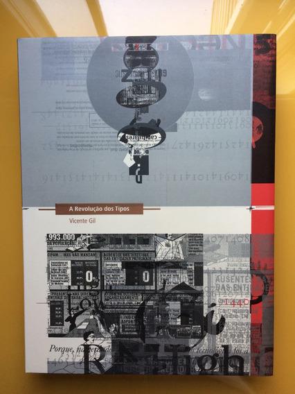 Livro A Revolução Dos Tipos - Tipografia - Design - Seminovo