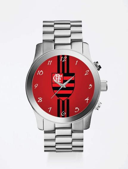 Relógio De Pulso Personalizado Feminino Futebol Flamengo 10