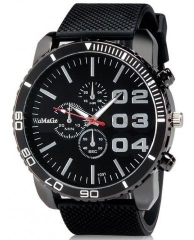 Relógio Womage 1091 Analógico, Masculino.