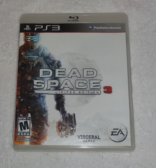 Dead Space 3 Limited Edition Ps3 ** Leia