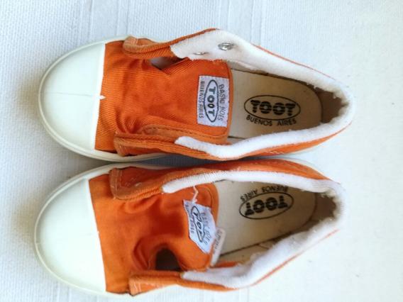 Zapatillas Lona 25