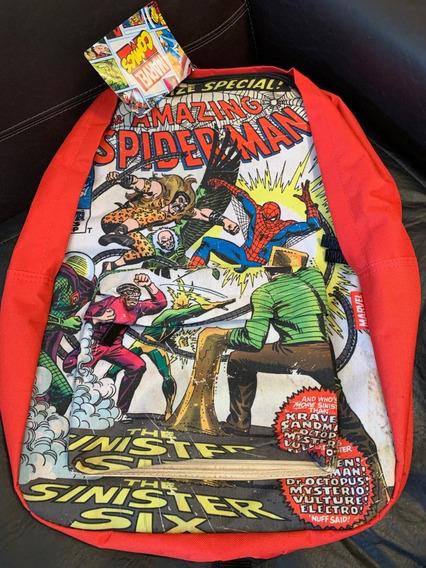 Mochila 18 Pulgadas Spider Man Marvel. Unica Disponible