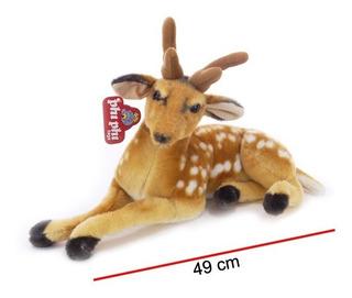 Bambi Echado De Peluche 49 Cm Ploppy 370442