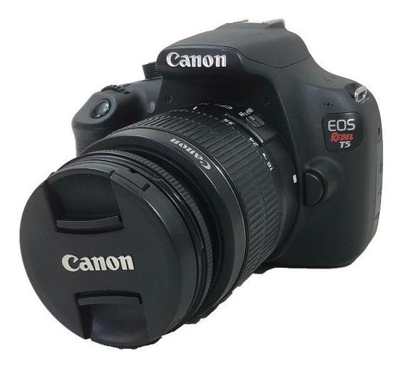 Câmera Canon T5 Kit 18-55mm Usada Conservada C/ Garantia