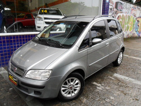 Fiat Idea Elx 2010 Cinza 1.4 Flex Completa U. Dono 90000 Km