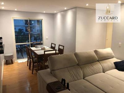 Apartamento Com 2 Dormitórios Para Alugar, 70 M² Por R$ 1.800/mês - Vila Augusta - Guarulhos/sp - Ap12642