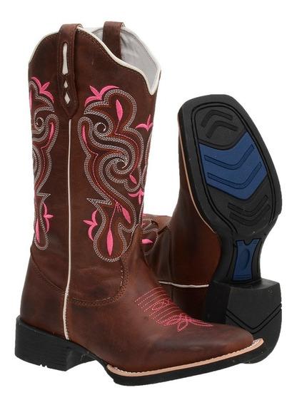 Oferta Promoção Bota Feminina Country Texana Barato Confort