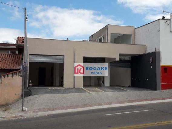 Prédio De 2 Salas Para Alugar, 96 M² Por R$ 3.400/mês - Bosque Dos Eucaliptos - São José Dos Campos/sp - Pr0103